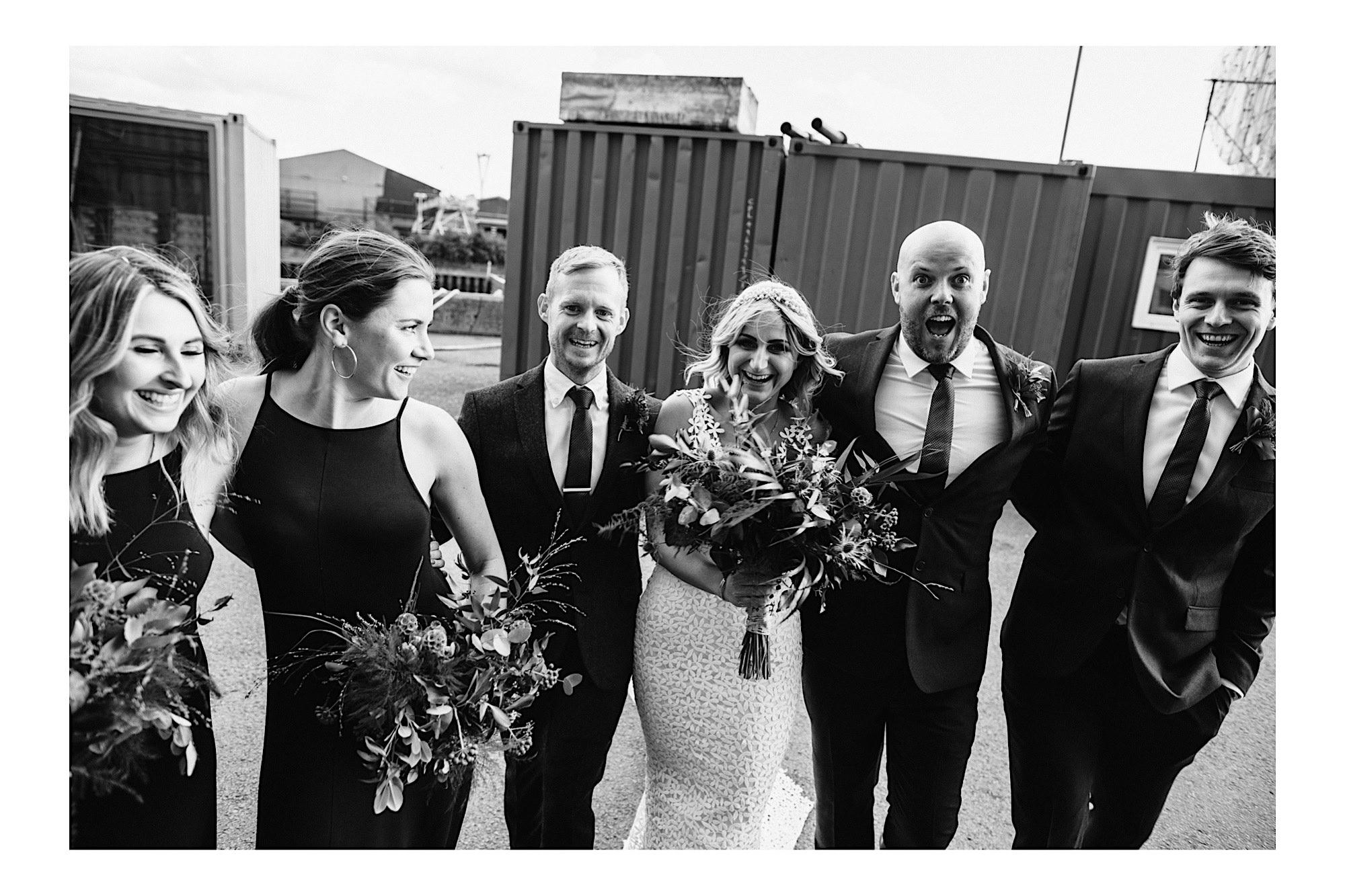 wedding photography at trinity buoy wharf
