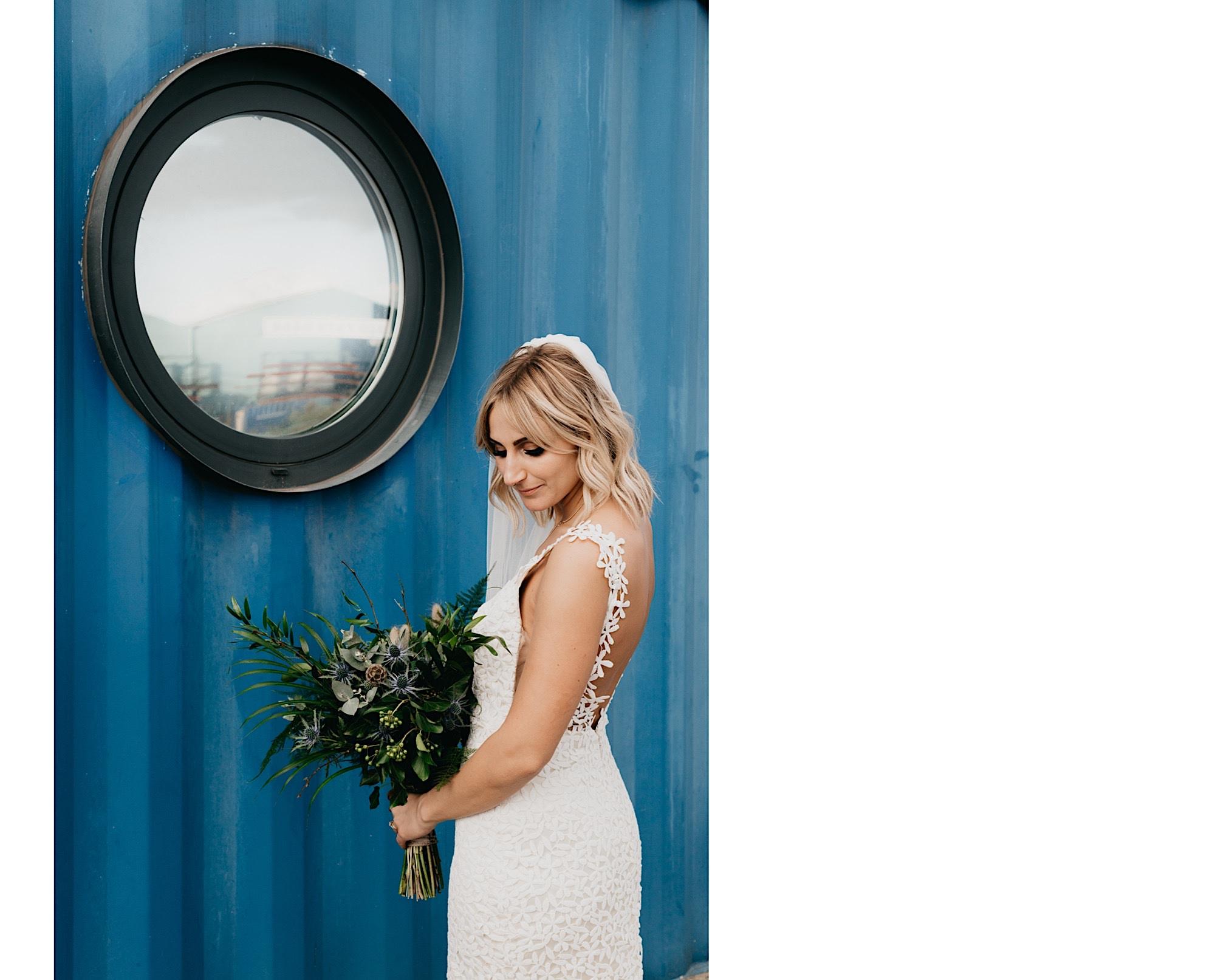 trinity buoy wharf wes anderson wedding