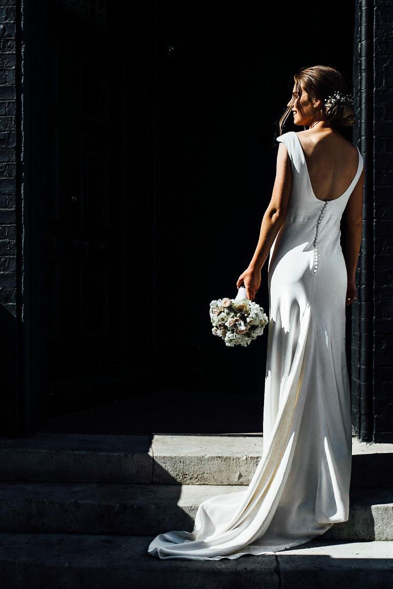 london wedding photographer - wedding in chelsea - bride
